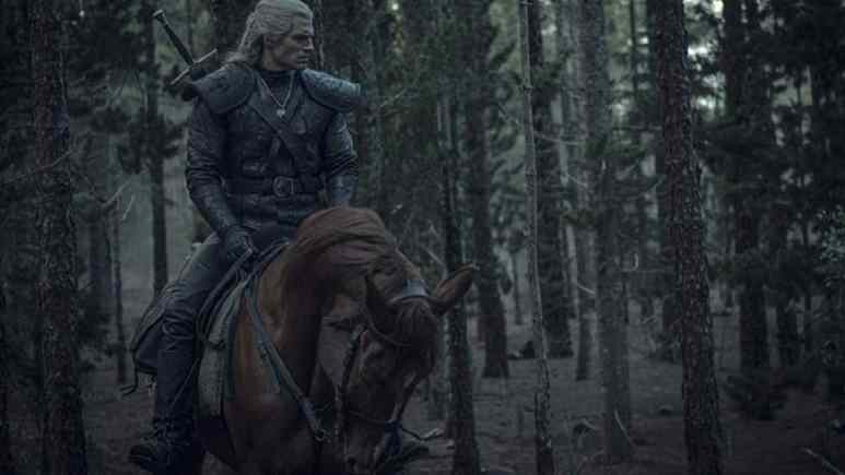 Henry Cavill stars in The Witcher