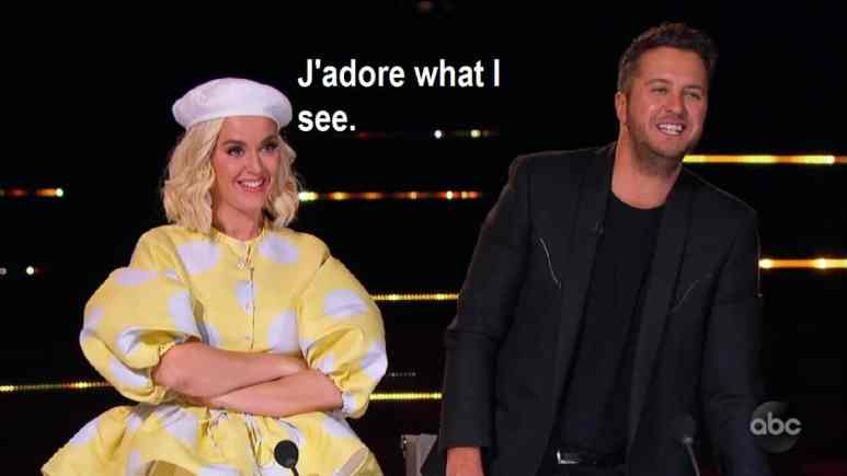 Katy Perry and Luke Bryan judge Idol contestants Hollywood Week