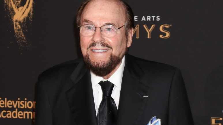 TV show host and writer James Lipton