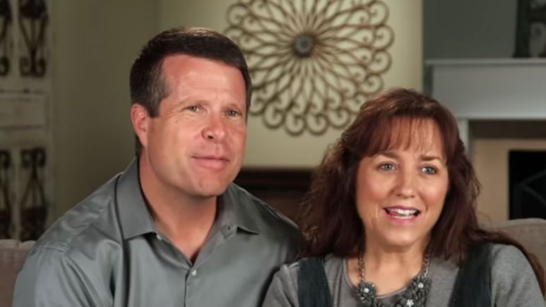 Jim Bob and Michelle Duggar in a Counting On confessionals.