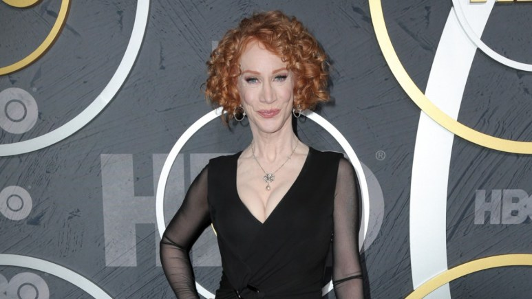 Kathy Griffin on the red carpet