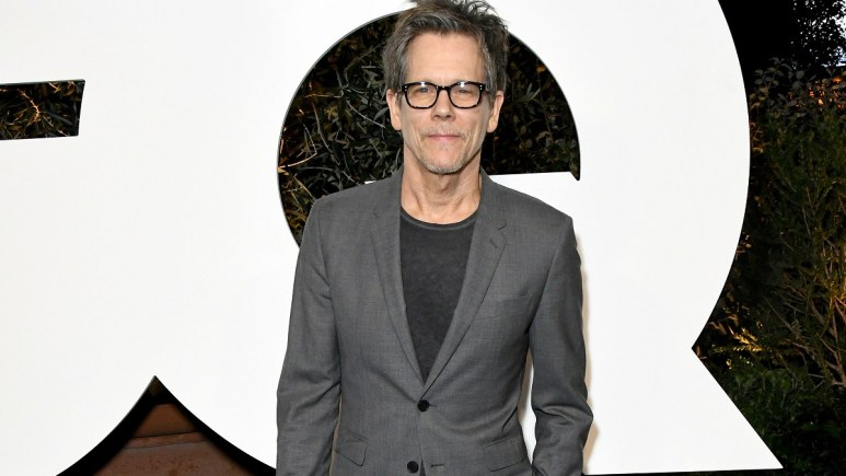 Actor and musician Kevin Bacon