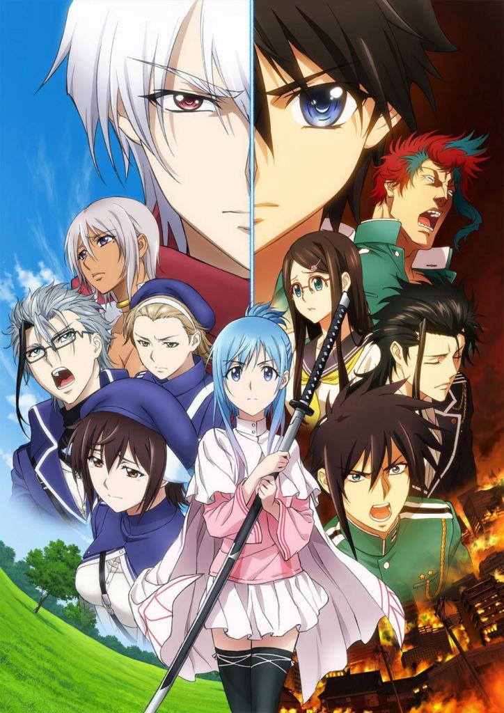 Plunderer Part 2 Anime Key Visual