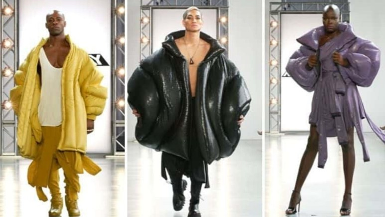 Project Runway: Geoffrey Mac's Puffer Jackets