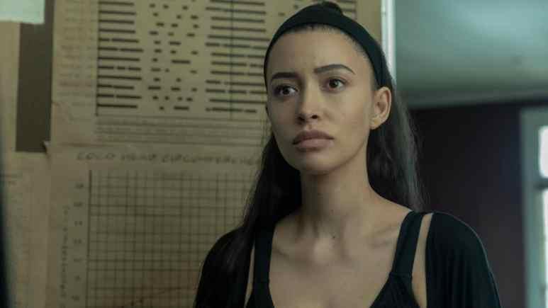 Christian Serratos stars as Rosita Espinosa