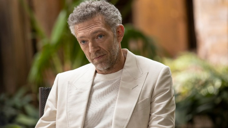 Vincent Cassel stars as Serac