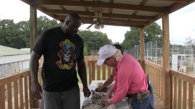 Shaquille O'Neal makes cameo in Tiger King