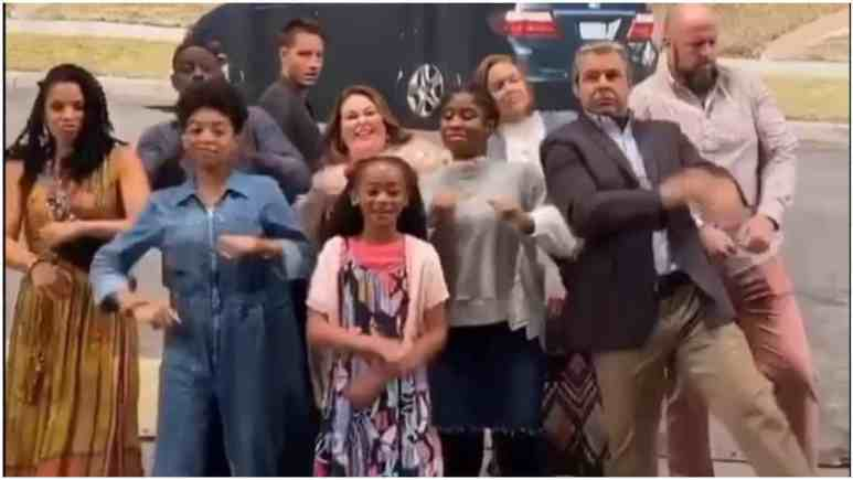 This Is Us cast viral dance video.