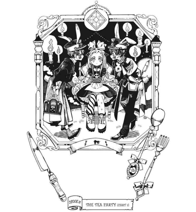 Toilet-Bound Hanako-kun Manga Chapter 21 Tea Party