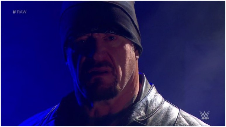 Undertaker cuts chilling promo against AJ Styles, is Biker Taker coming back?