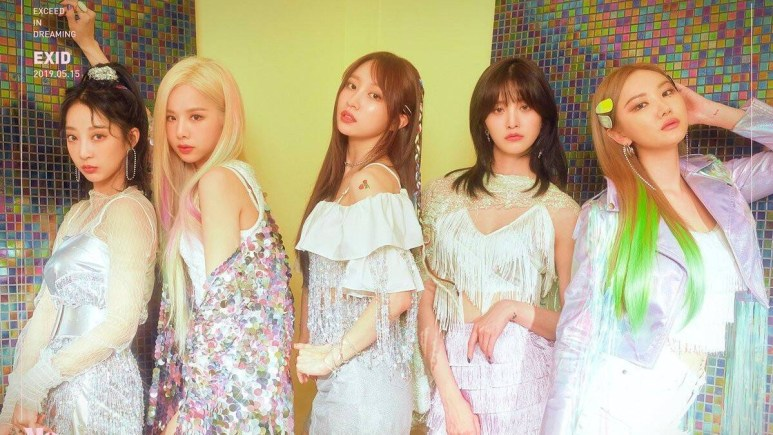 EXID promotional picture for Me&You