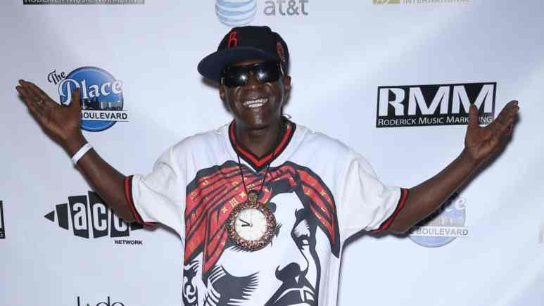 Flavor Flav on the red carpet