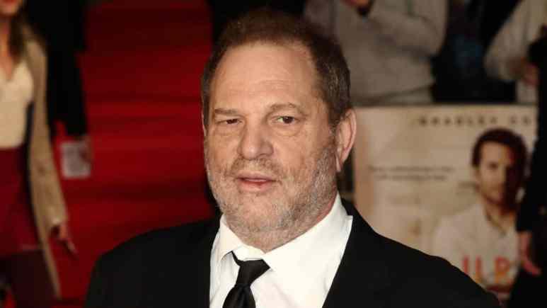Harvey Weinstein on the red carpet