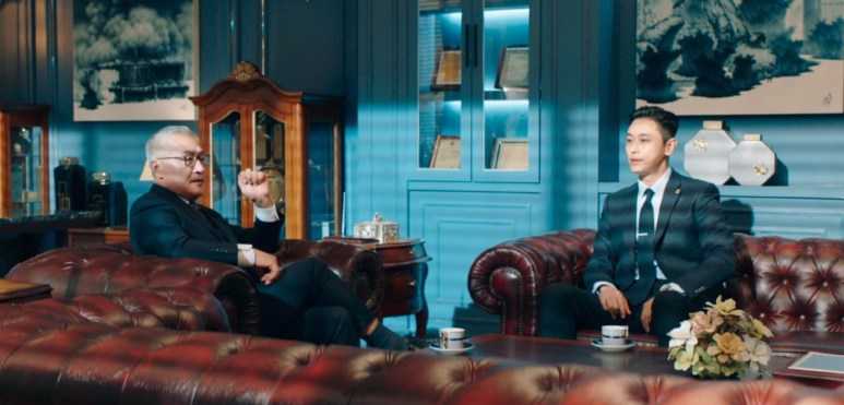 Song Pil-Joong and Yoon Hee-Jae meeting