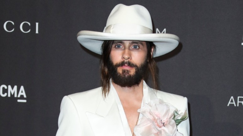 Jared Leto on the red carpet