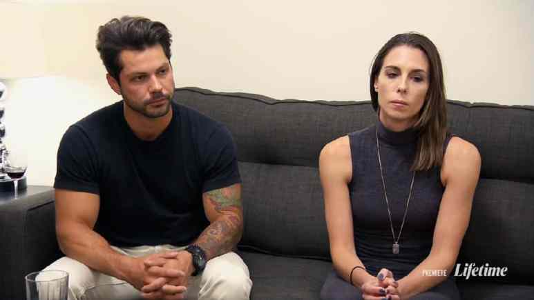 Married at First Sight couple Mindy and Zach talk to Dr. Pepper