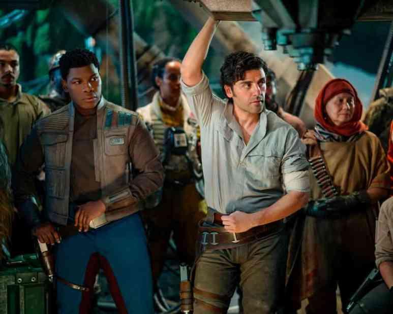 Oscar Isaac portrays pilot Poe Dameron in Star Wars: The Rise of Skywalker