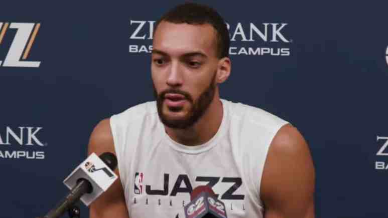 utah jazz star rudy gobert gives health update