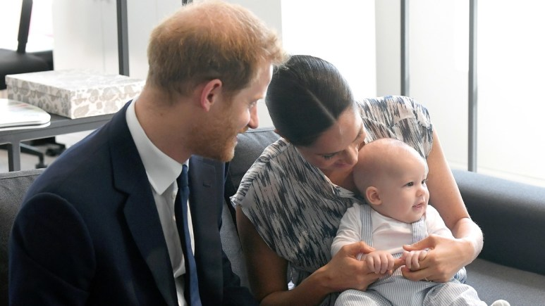 Prince Harry and Meghan Markle unveil Archewell, their new organization.