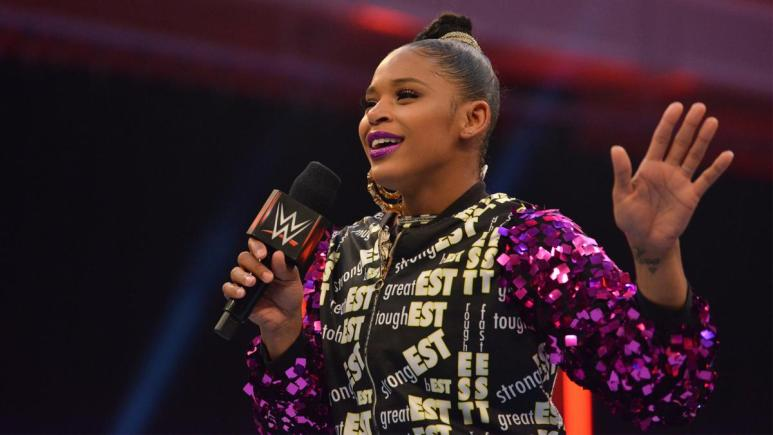Bianca Belair officially announces she has joined WWE Monday Night Raw