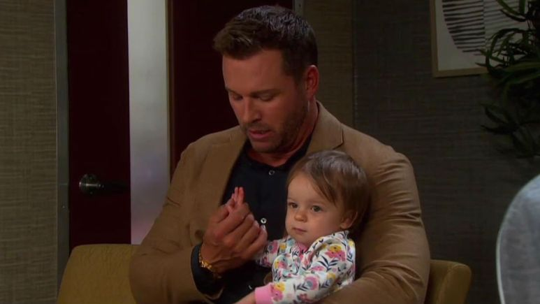 Days of our Lives spoilers tease Nicole reveals the baby switch secret.