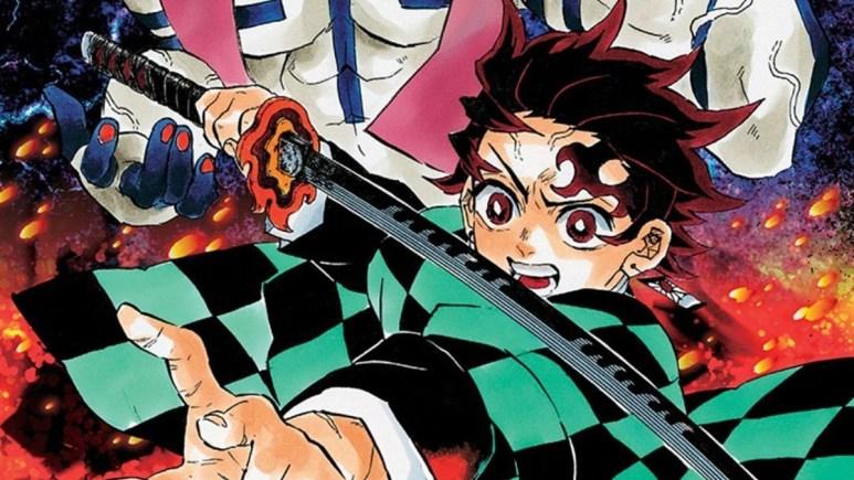 Demon Slayer manga artwork