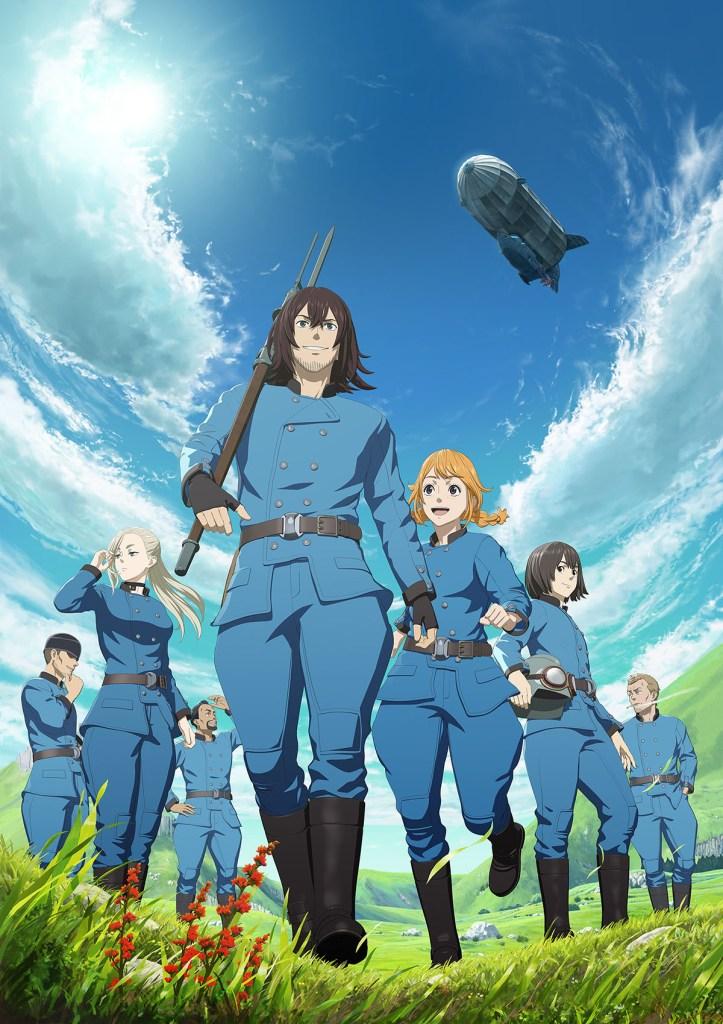 Drifting Dragons Netflix Anime Kuutei Dragons Key Visual
