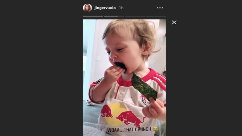 Felicity on Jinger Duggar's Instagram story.