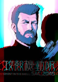 Ghost In The Shell SAC_2045 Anime Character Design 5