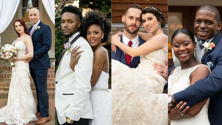 Two of the four couples from Married at First Sight Season 9 are still together.