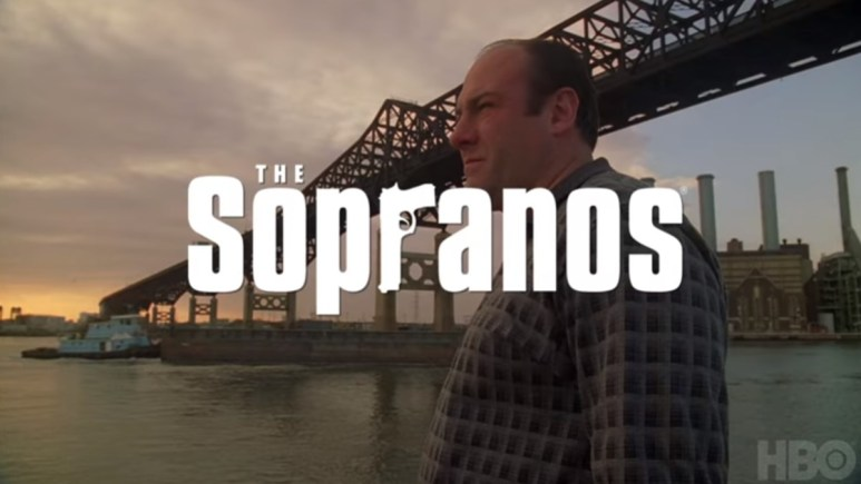 A scene from The Sopranos