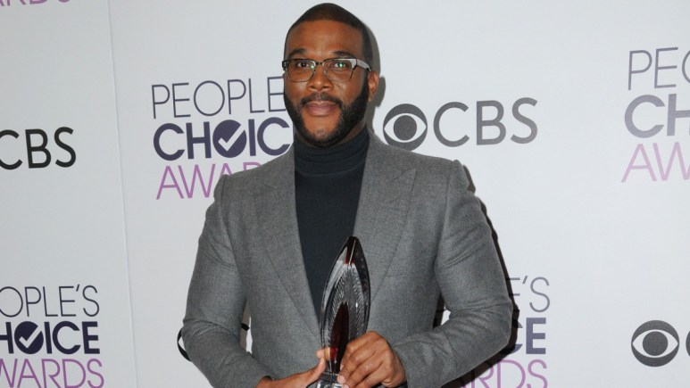 Tyler Perry joins Kanye West and Mariah Carey in participating in a virtual Easter Sunday service.