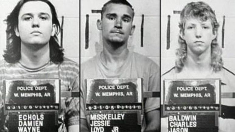 Mugshots of the West Memphis Three