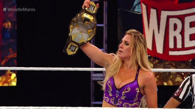 Charlotte Flair defeats Rhea Ripley for NXT Women's Championship