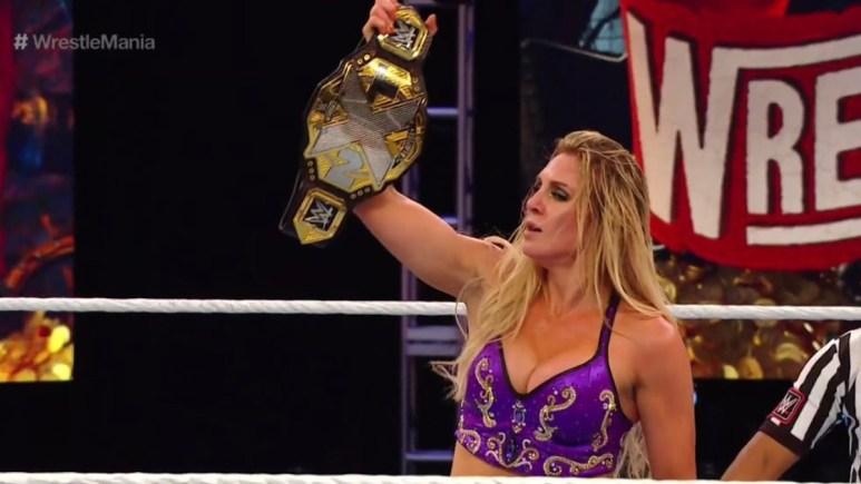 Charlotte Flair defeats Rhea Ripley for NXT Women's Championship