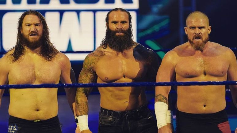 Former NXT stable forgotten sons on smackdown