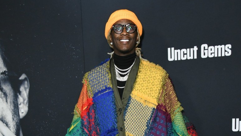 Young Thug on the red carpet