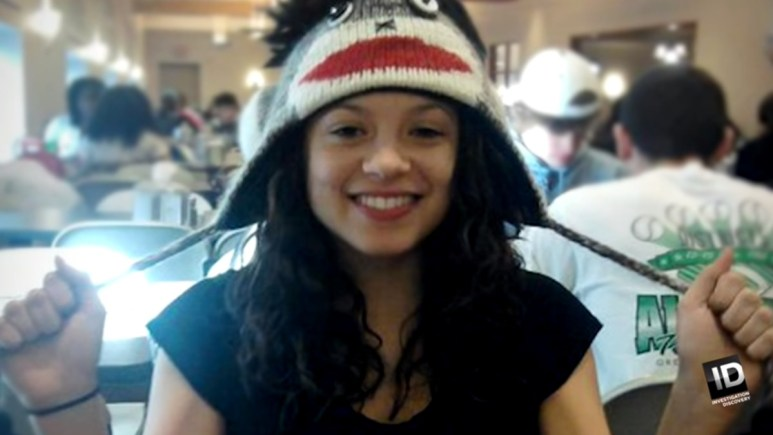 Faith Hedgepeth poses in a family photo