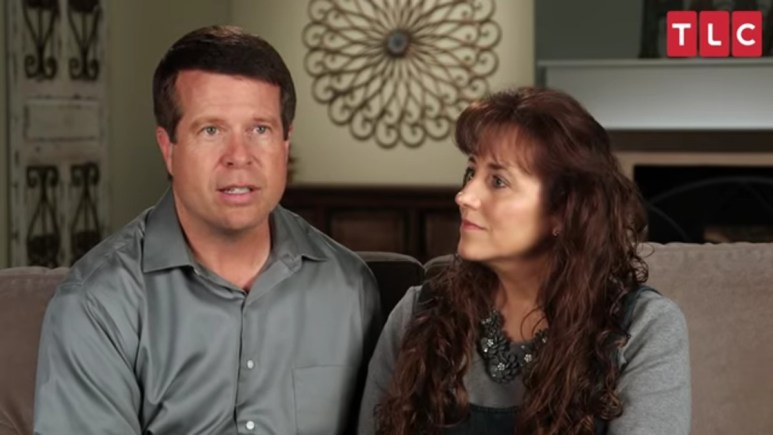 Jim Bob and Michelle Duggar in TLC confessionals.