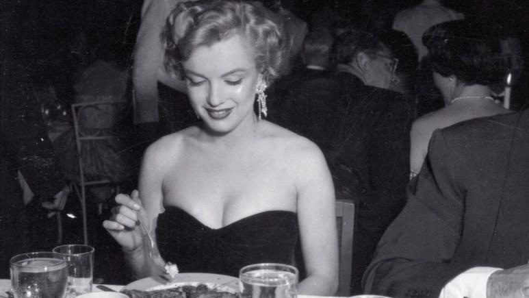 Marilyn Monroe Dining
