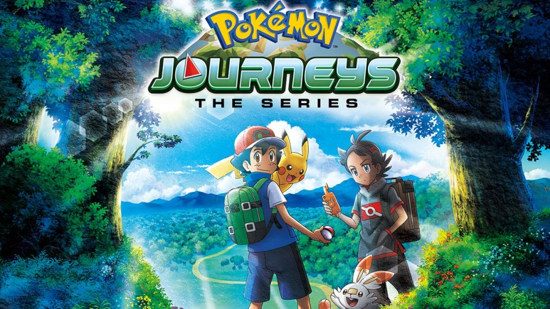 Pokemon Journeys: The Series cover art