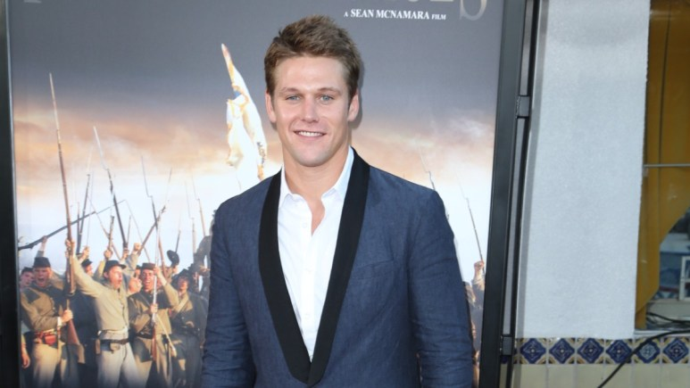 Zach Roerig on the red carpet