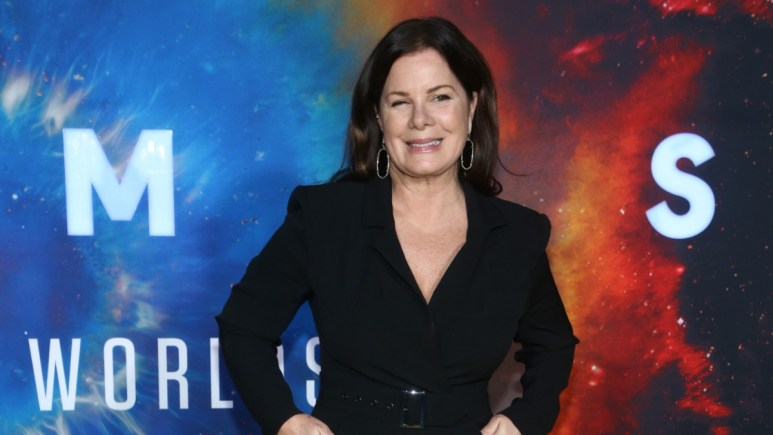 Marcia Gay Harden on the red carpet