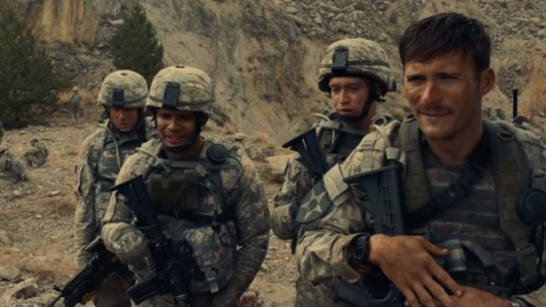 A still from The Outpost movie