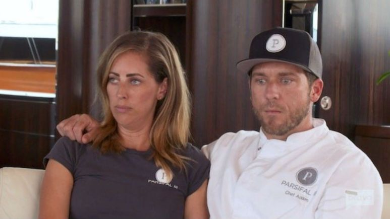 Below Deck Sailing Yacht stars Adam and Jenna say they split because of Bravo show.