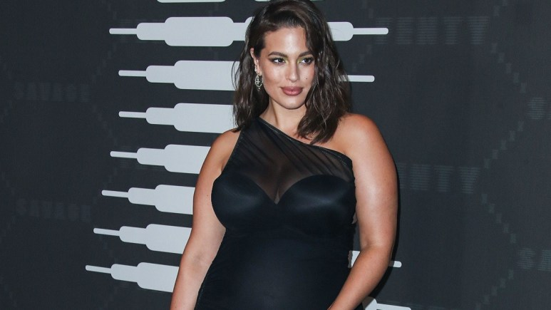 Plus-size model Ashley Graham