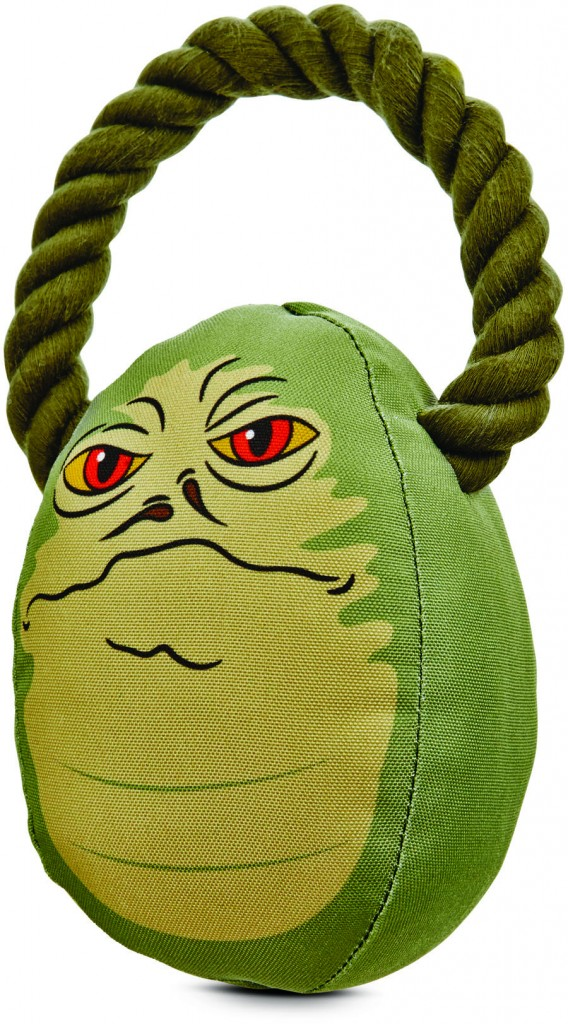 Jabba the Hut dog toy