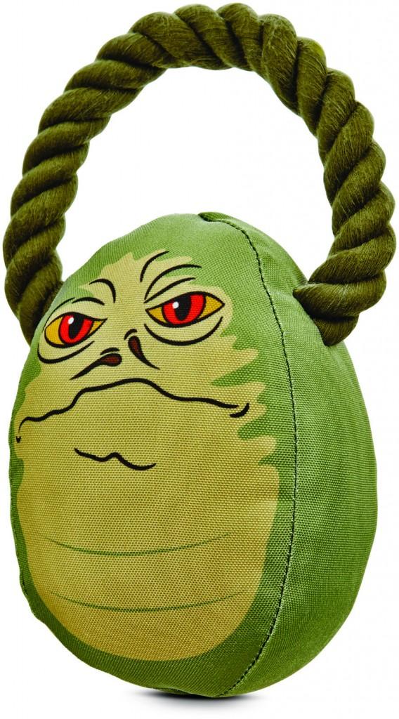Jabba the Hut dog toy