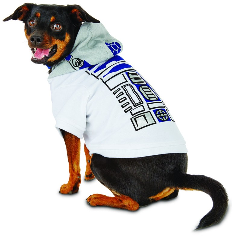 R2D2 dog apparel