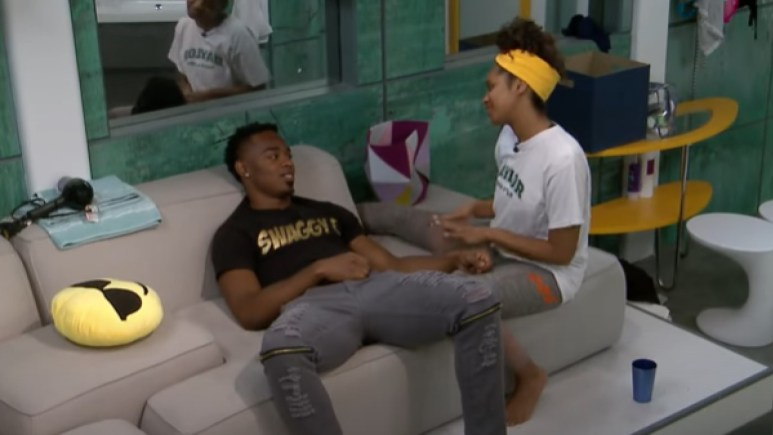 Swaggy And Bayleigh on Big Brother